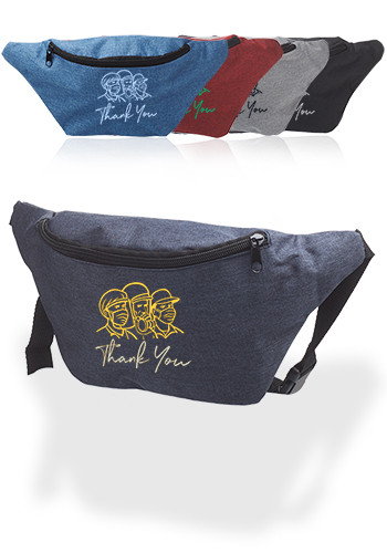 Customized Excursion Polyester Fanny Packs
