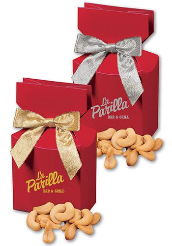 Extra Fancy Jumbo Cashews in Red Gift Box | MRRPD102