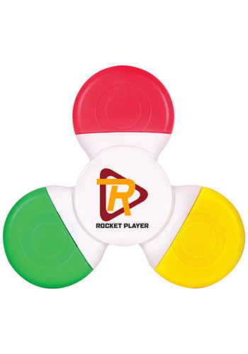 Promotional Fiddle Spinner Highlighters
