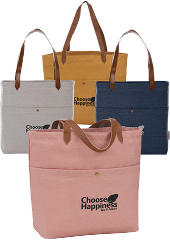 Field and Co. 16 Oz Cotton Canvas Book Totes | LE795019