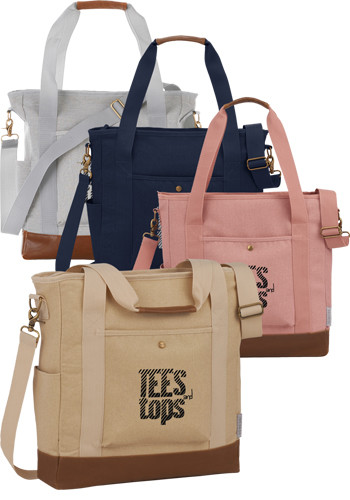 Field and Co. 16 Oz Cotton Canvas Commuter Totes | LE795020