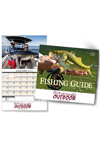 Promotional Fisherman's Guide Wall Calendars