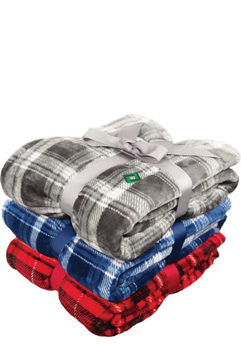 Personalized Flannel Plush Pattern Blankets