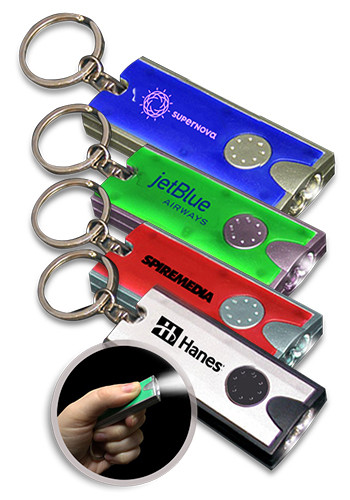 Flashlight LED Keychains