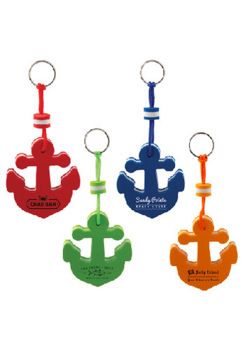 Personalized Floating Anchor Keytags