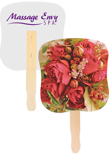 Flower Bouquet Hand Fans | AK33054