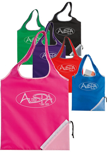 Fold-Up Cinch Corner Totes | X30169