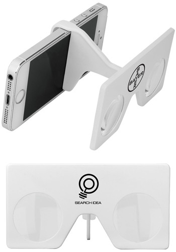 Foldable Mini Virtual Reality Glasses with Clip | SM3922
