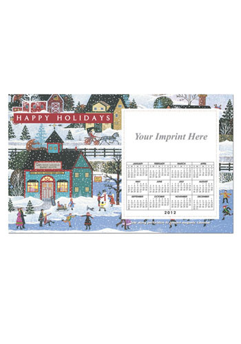Folk Art Calendar Magnets | MGSC06H2