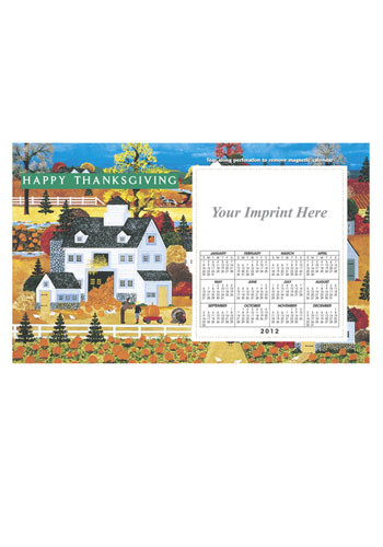 Folk Art Calendar Magnets | MGSC06T2