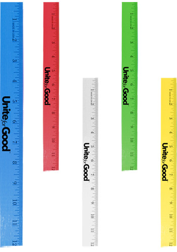 Customized Foot Enamel  Wood Rulers