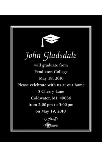 Formal Graduation Save the Date Magnets | MGS217NN