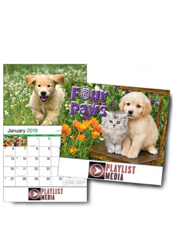 Four Paws Wall Calendars | HLP810