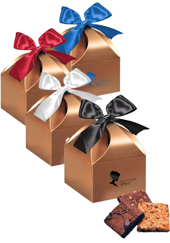 Fresh Baked Brownies in  Copper Gift Box | MRCCT166