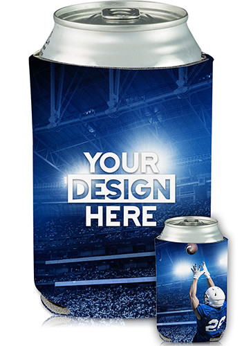 Personalized Full Color Collapsible Can Cooler MNF Print