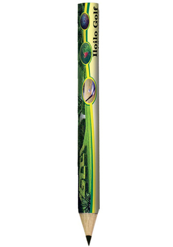 Full Color Round Golf Pencils | AK8061100