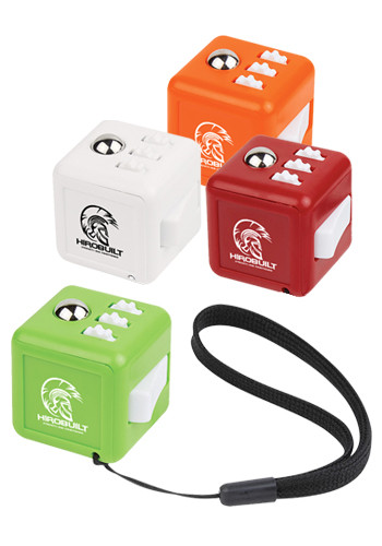 Fun Fidget Cubes with Wrist Strap | X20139