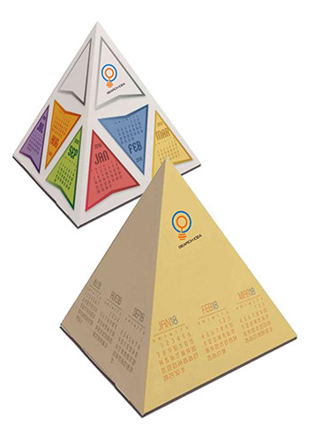 Fun Shapes Pyramids Calendars | X11546