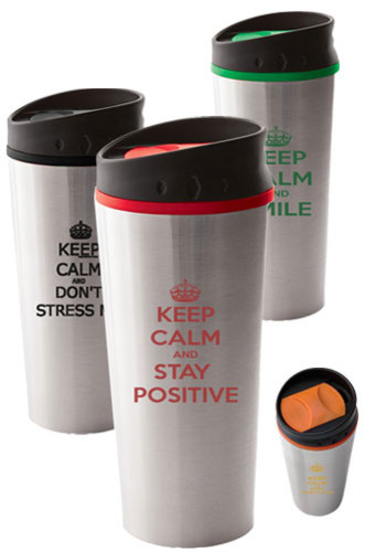 #SM6846 Georgia 16oz Custom Printed Travel Tumblers