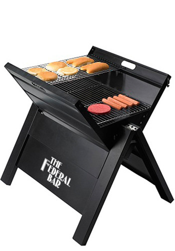 Customized Giant Tailgate Grills