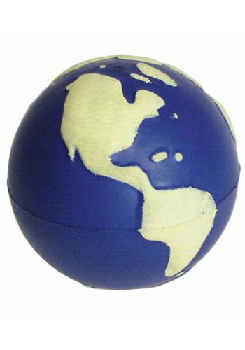 Wholesale Glow in the Dark Earth Stress Balls