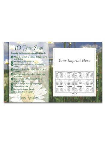 Go Green Calendar Magnets | MGSC06H21