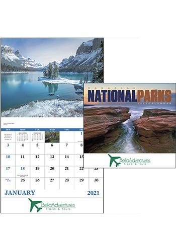 Wholesale Good Value Canadian National Parks Calendars