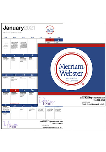 Good Value Word A Day Calendars by Merriam Webster |X30234