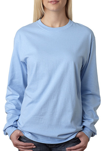 Printed Hanes Tagless Unisex Long Sleeve T-Shirts  8f882426de1