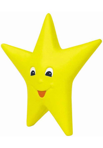 Happy Star Stress Balls | AL26212