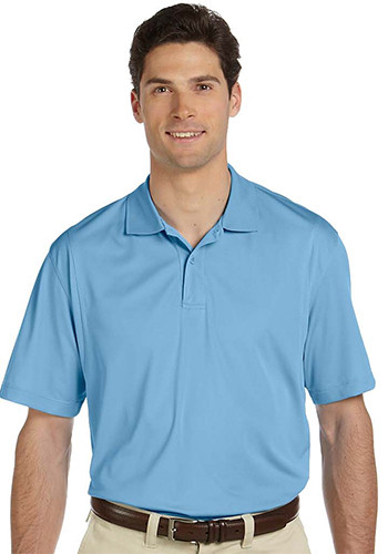 Harriton men's 3.8oz micro pique polo