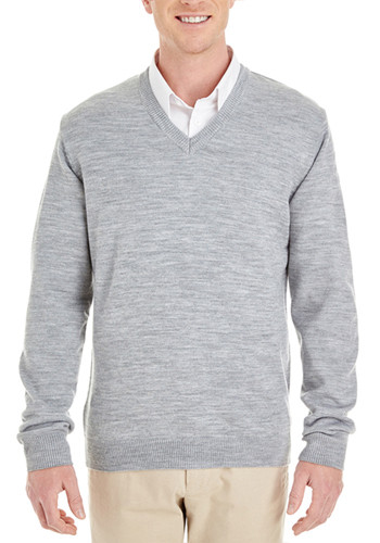 Harriton Men's Pilbloc V-Neck Sweaters | M420