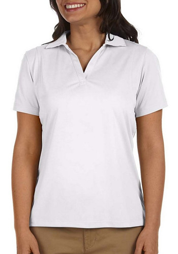Harriton-woman's 3.8 oz micro pique polo