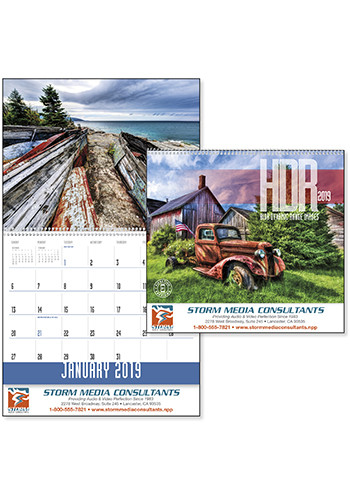 HDR High Dynamic Range Images Triumph Calendars | X11317