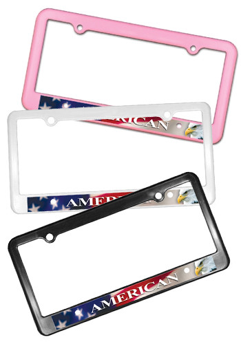 Promotional Heay-duty Plastic License Plate Frames