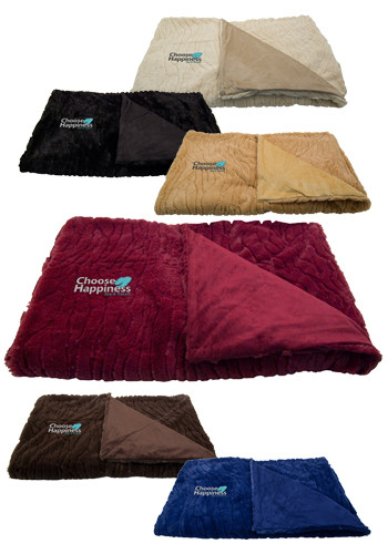 High End Reversible Mendocino Throw | APFURB2800