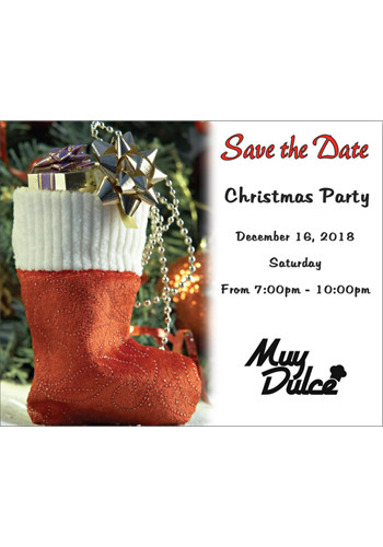 Holiday Stocking Save the Date Magnets | MGS217HH