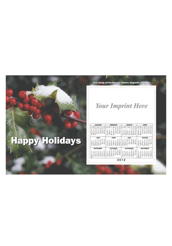 Bulk Holly Calendar Magnets