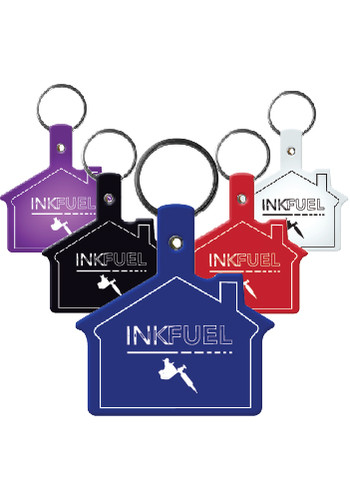 House Flexible Key Tags