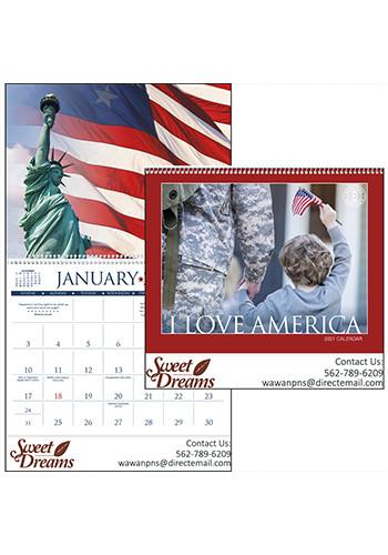 I Love America Triumph Calendars | X11277