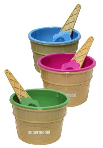 Ice Cream Bowl and Spoon Sets