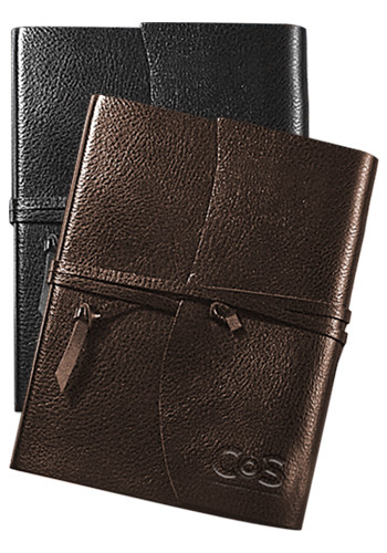 Americana Leather-Wrapped Bound Journals   PLLG9069