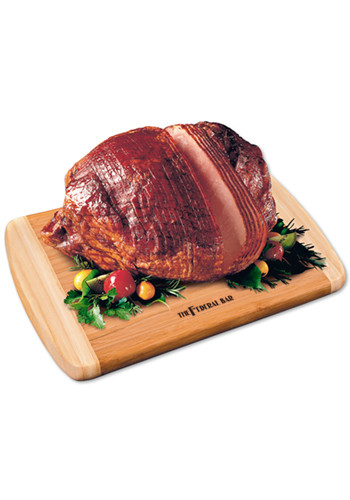 Bamboo Cutting Boards with Spiral-Sliced Whole Ham | MRBB745