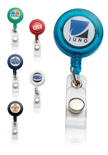 Wholesale N-dome Badge Holders with Reels