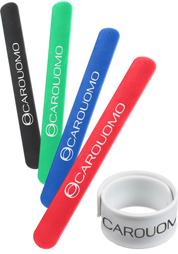 Customized Silicone Slap Bracelets