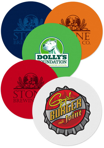 Customized Vinyl Coasters