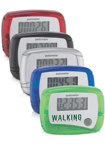 Customized In Shape Pedometers