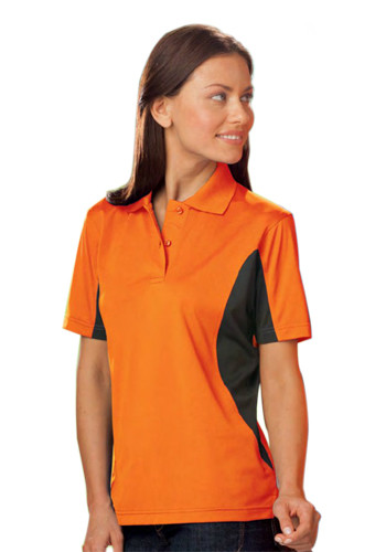 Blue Generation Ladies' Wicking Colorblock Polo Shirts | BGEN6226