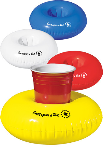 Inflatable Beverage Floats
