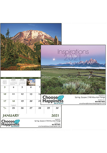 Inspirations for Life - Stapled Calendars | X30201
